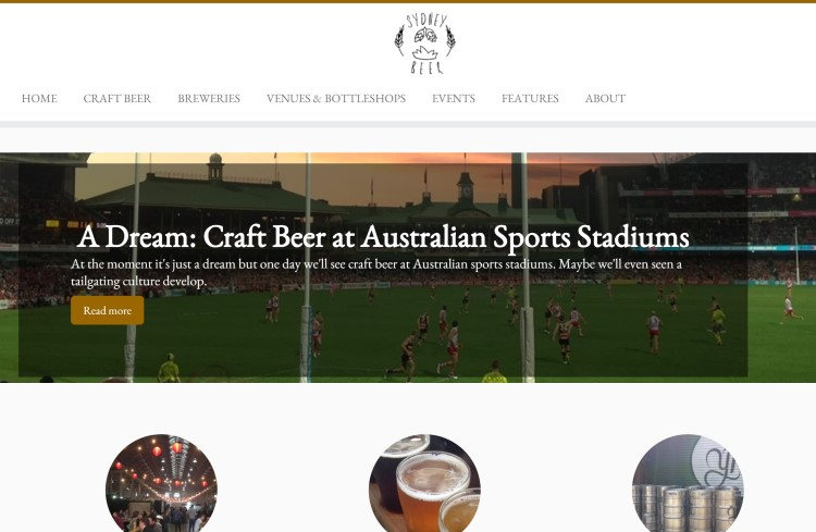 sydney beer bar blog