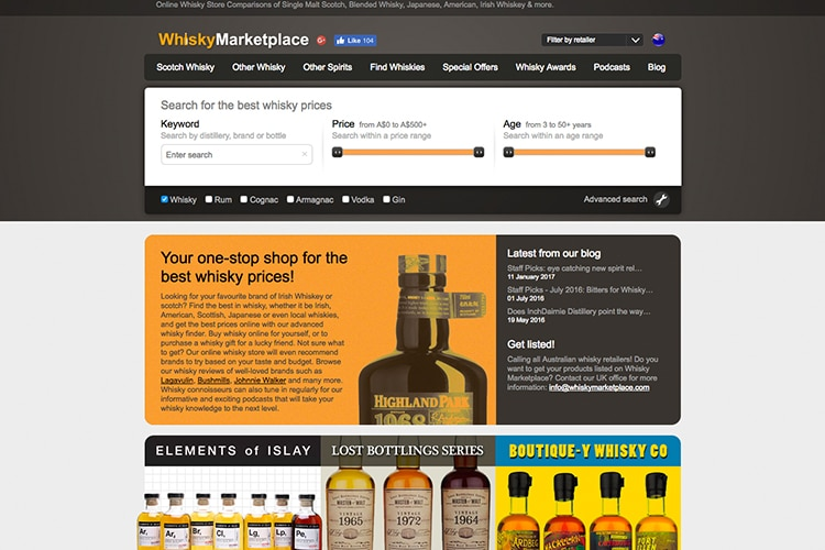 the whisky marketplace