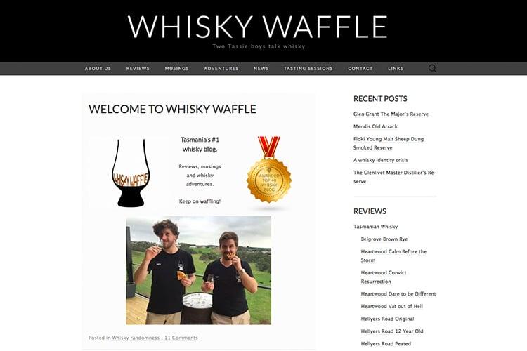 whisky waffle australian blog