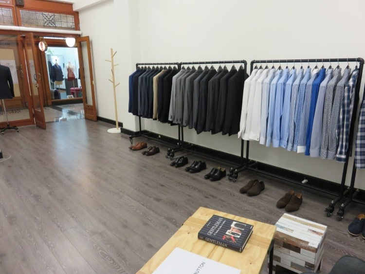 joe button suits collection