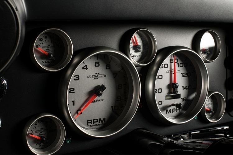 chevrolet camaro 1969 analog indicator panel
