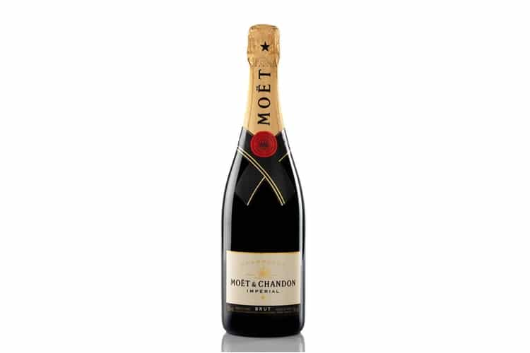 mother moet & chandon champagne