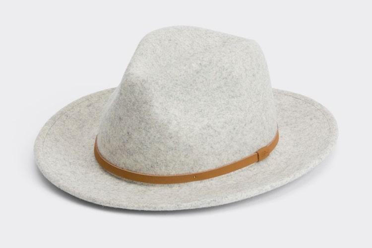 mother william grey fedora hat
