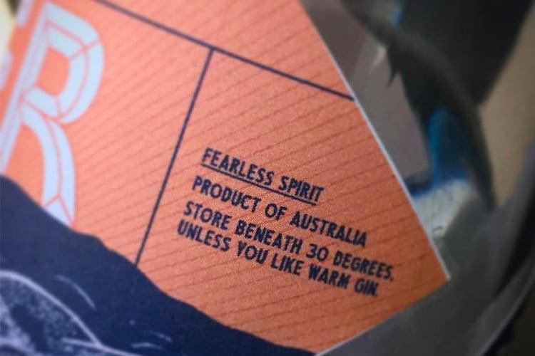 fearless spirit gin