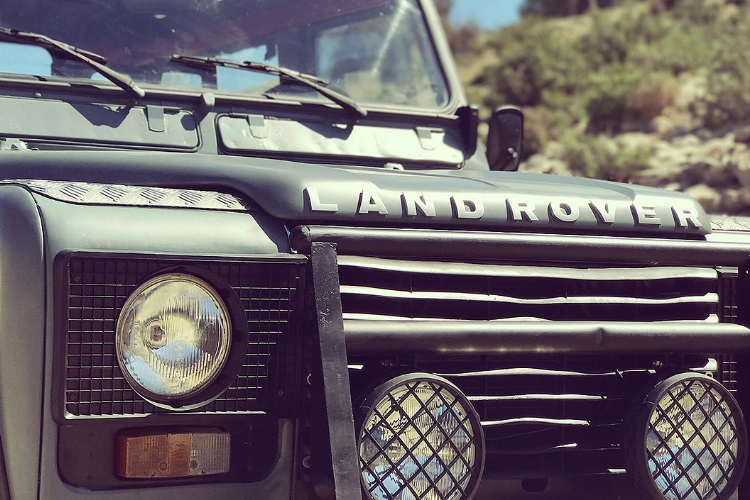 petrology land rover defender headlights