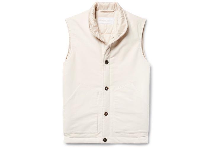 private white vc cotton