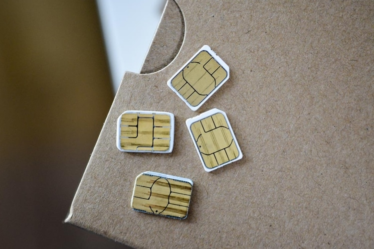 two type sim card size