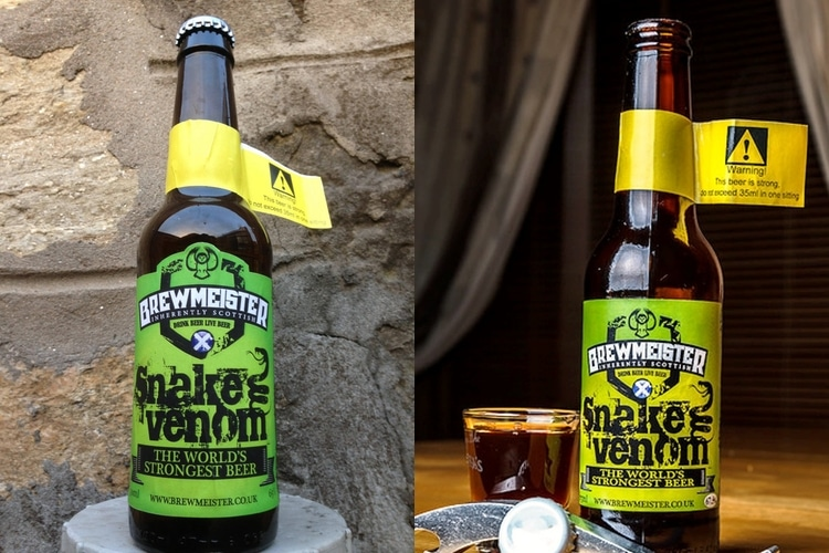 Snake Venom is the World's Strongest Beer at 67 5% ABV | Man of Many