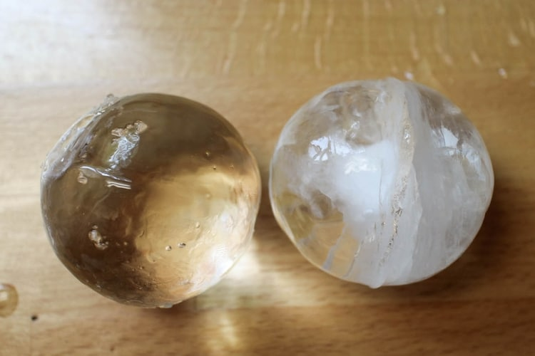 ice ball upper look
