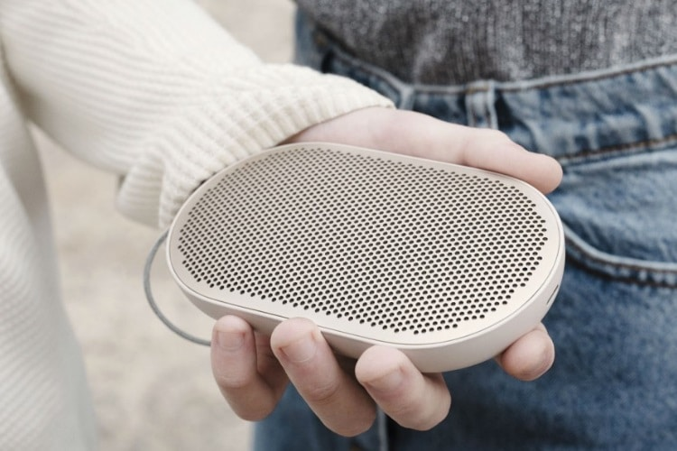 mother beoplay p2 portable speaker