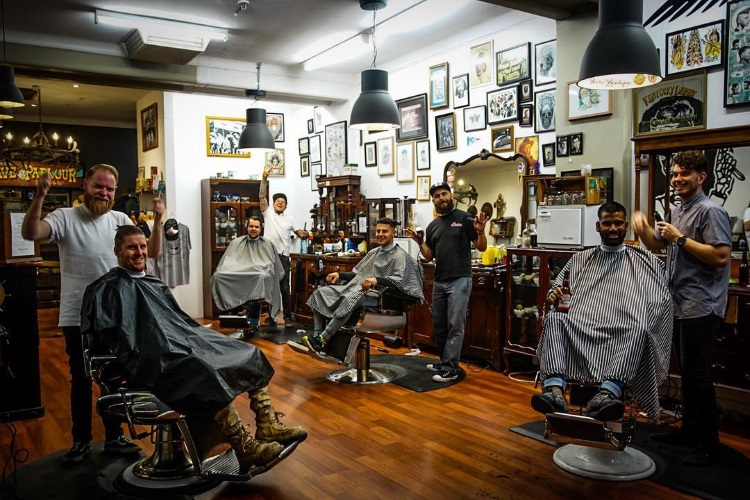 born barbers barbershop