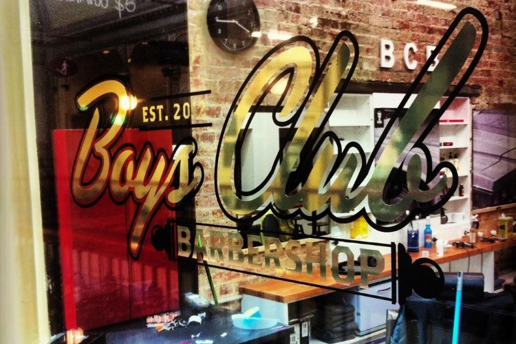 boys club barbershop