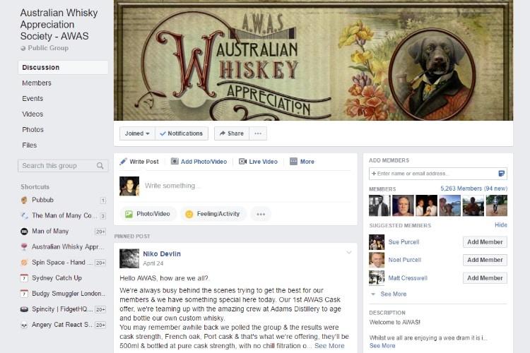 australian whisky appreciation society