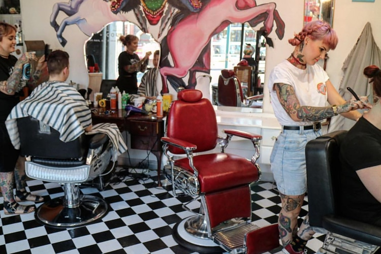 fitzroys little rebel collective barber shop