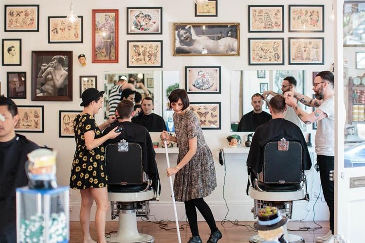 the happy sailors barber shop
