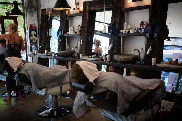 his lid coolest barber shop