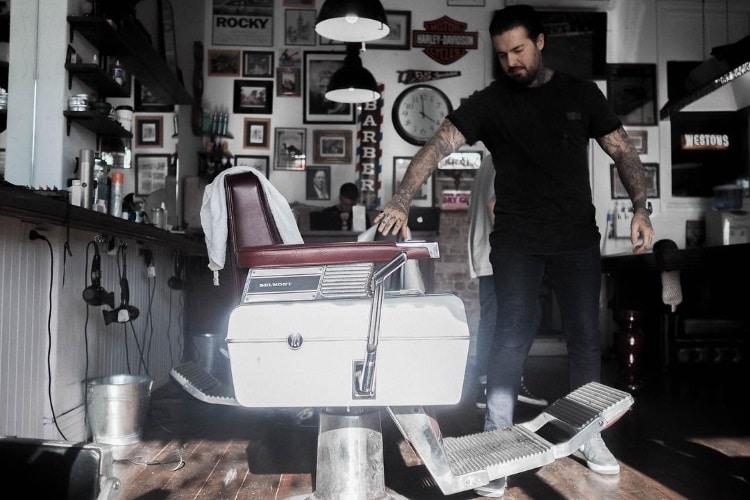 westons barbershop shave parlor