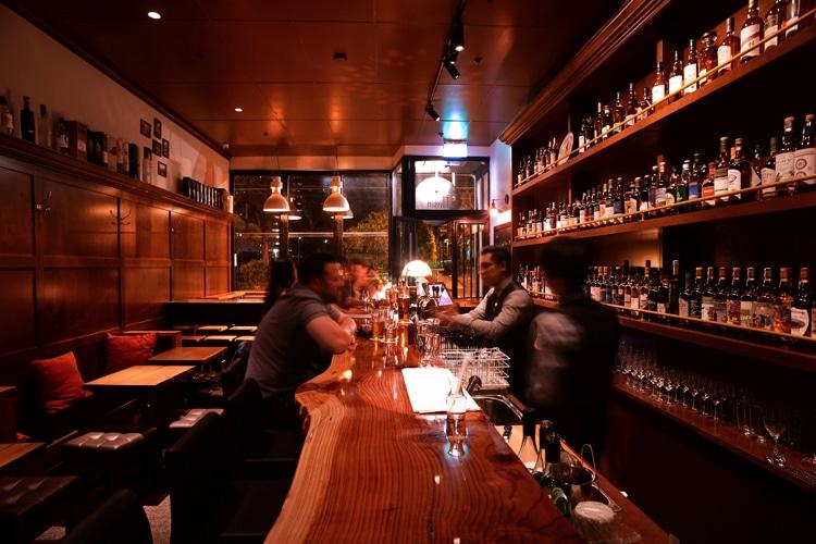 the elysian bar inside