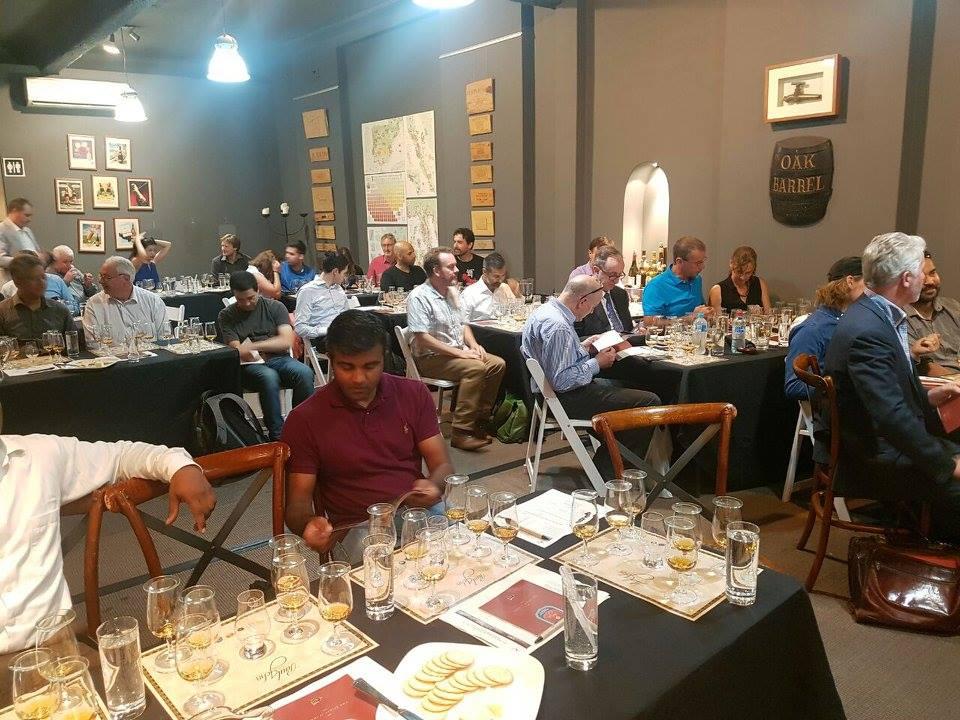oak barrel bar dining