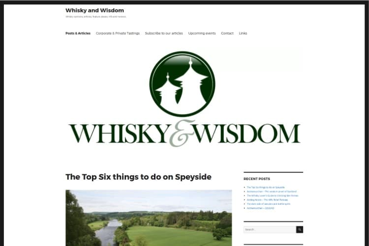whisky and wisdom