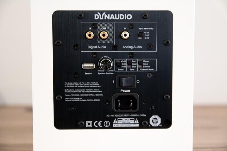 dynaudio focus 20 xd speaker control board
