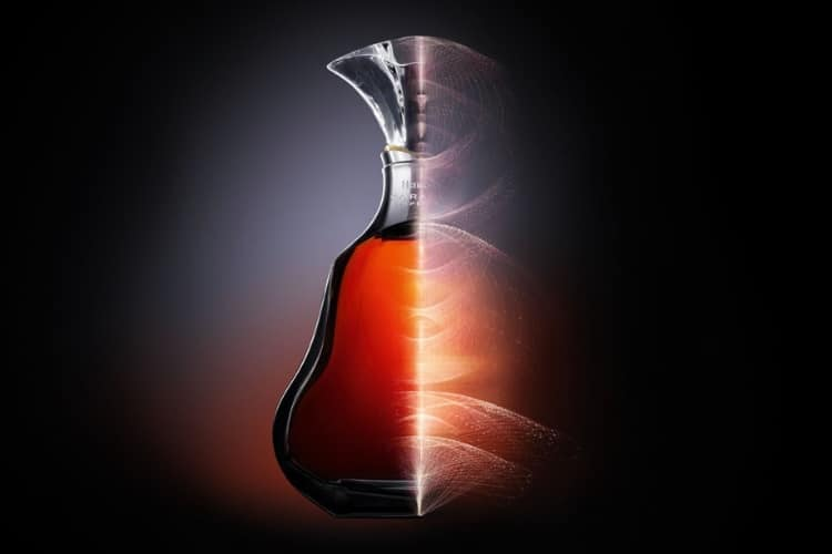 hennessy paradis brandy half bottle