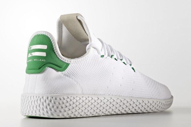 adidas hu tennis shoe back look