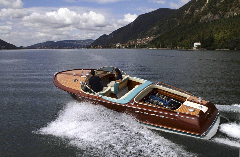 twin v12 riva aquarama boat speed