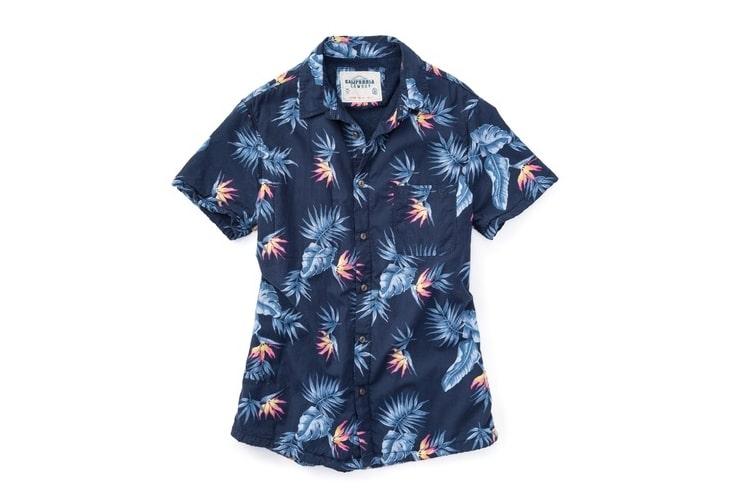 high water bird of paradise shirt
