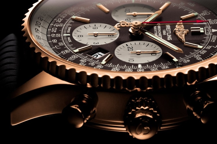 breitling gold color