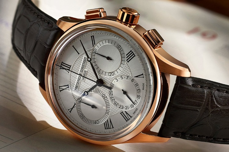 frederique constant black watch