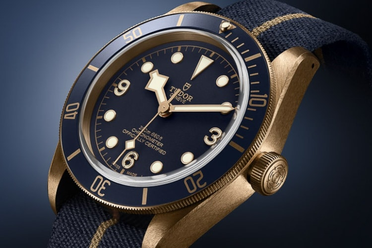 tudor blue and gold combination
