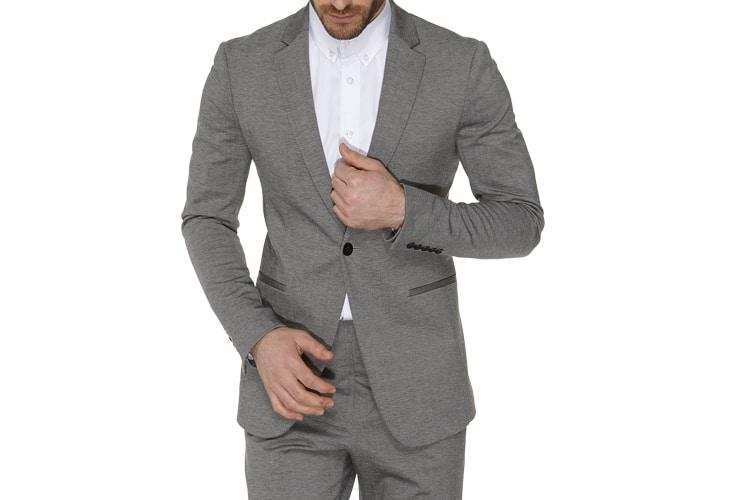 x suit grey