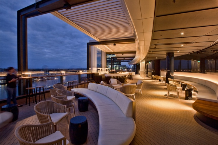 zephyr hyatt regency sydney rooftop bar