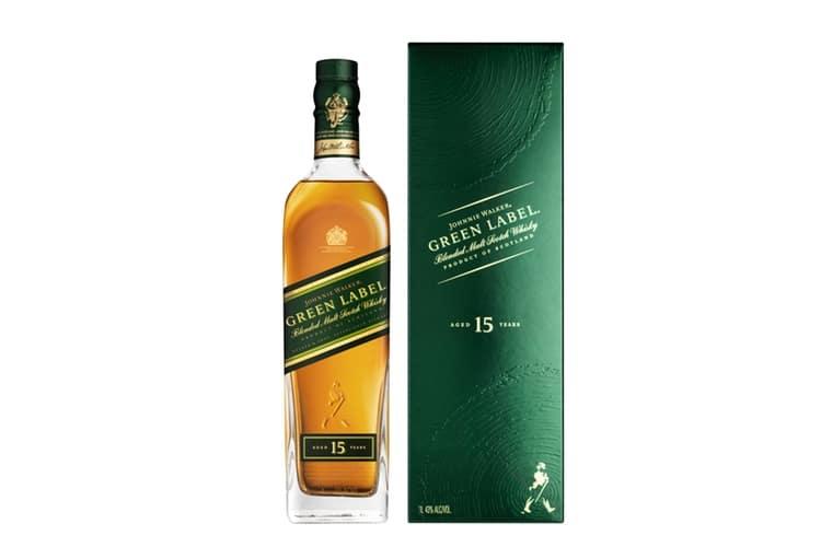 johnnie walker green label scotch whisky