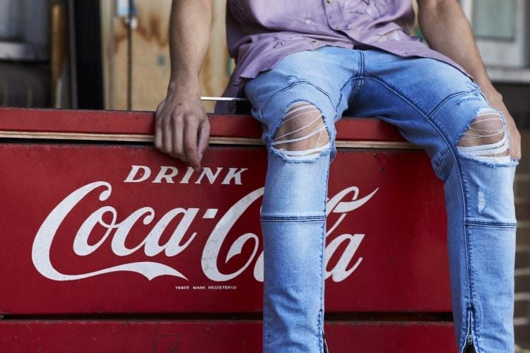 drop skinny jeans shorts denim lounge shirts