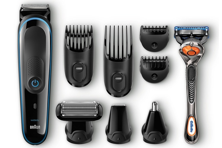 braun multi grooming kit powerful shaving