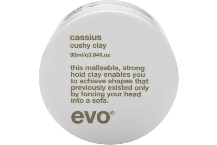 evo cassius cushy clay for hair