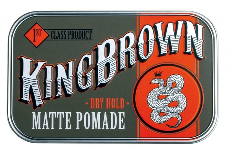 king brown pomade review