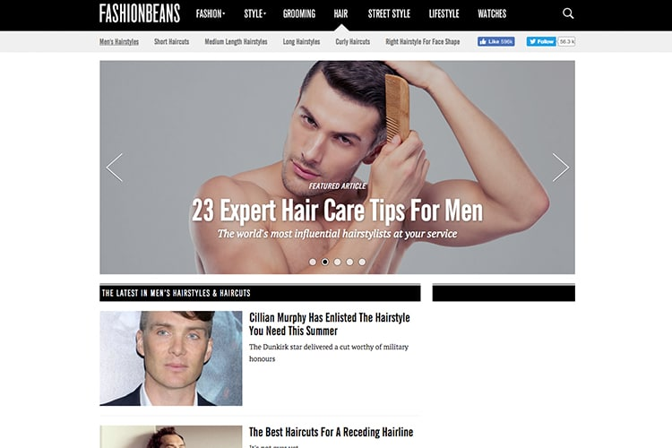 Best Men S Hairstyle Sites Blogs Man Of Many