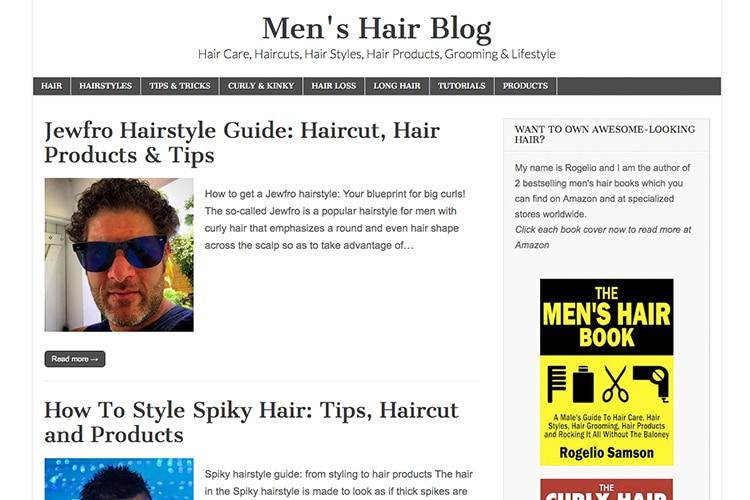 men's hair care blog