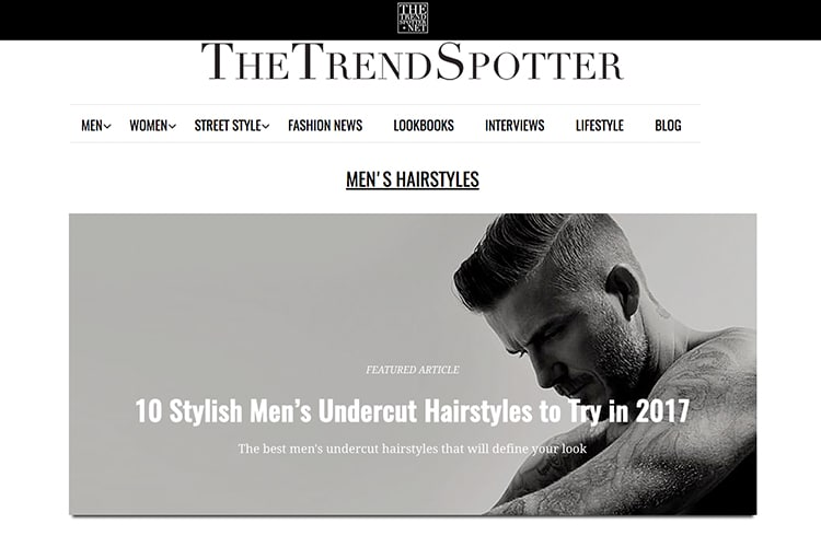 the trend spotter popular blogs