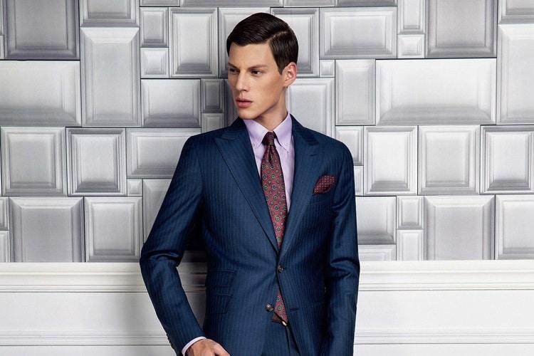 man wear germanicos bespoke tailors suit