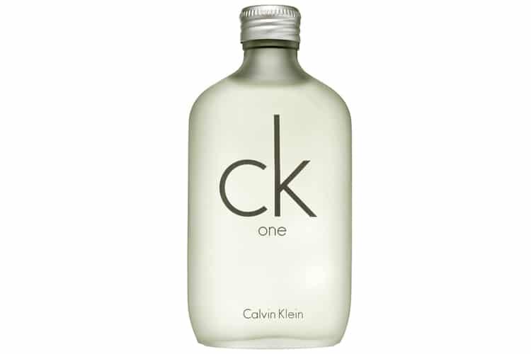 ck one by calvin klein best fragrance