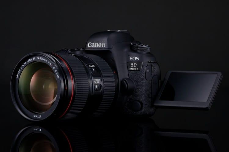 canon eos 6d mark ii lens camera