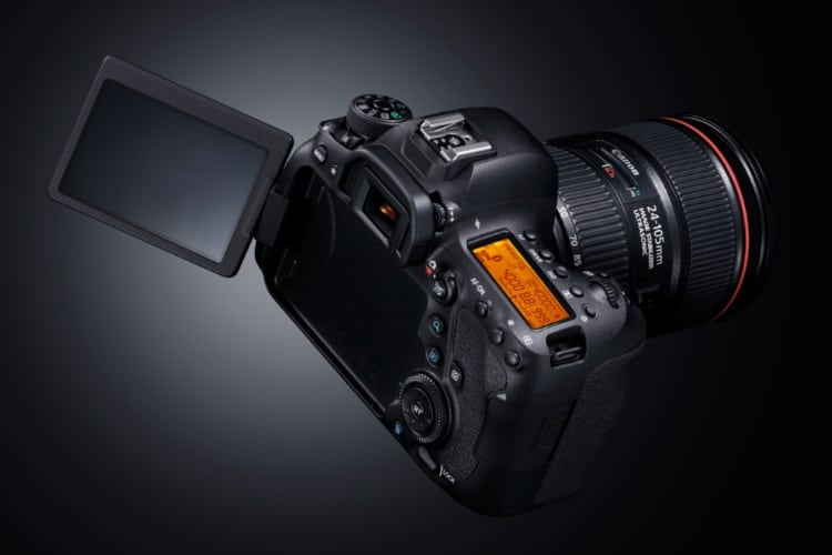 canon eos 6d camera display and others functionality