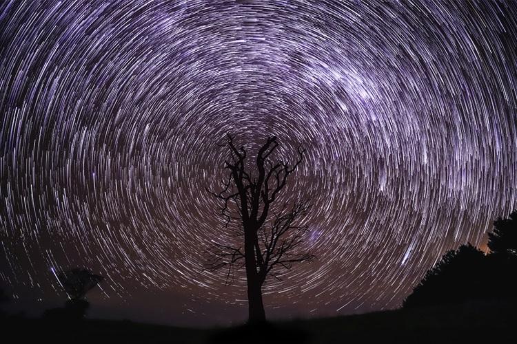 image of sky dark night view