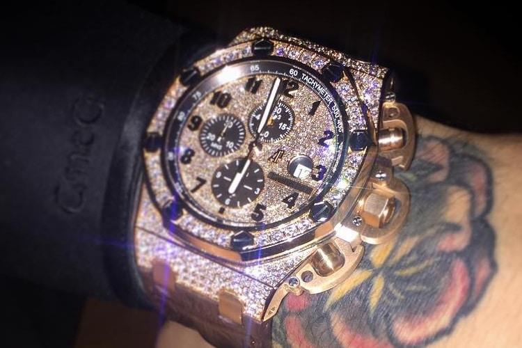 audemars piguet offshore chronograph custom diamond