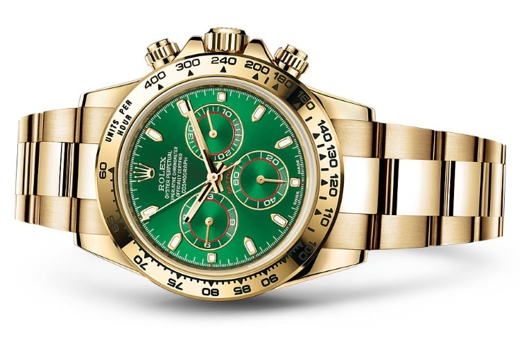 rolex oyster perpetual cosmograph daytona green dial