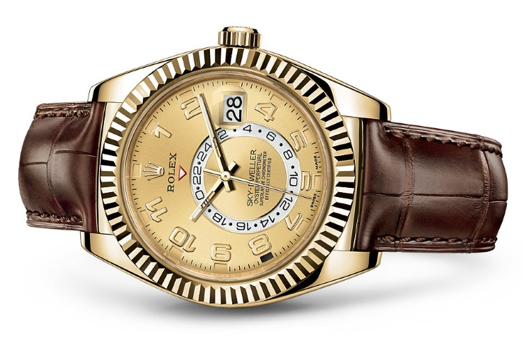 rolex oyster perpetual sky dweller